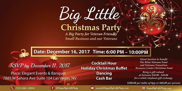 Vegas Big Little Christmas Party 2018