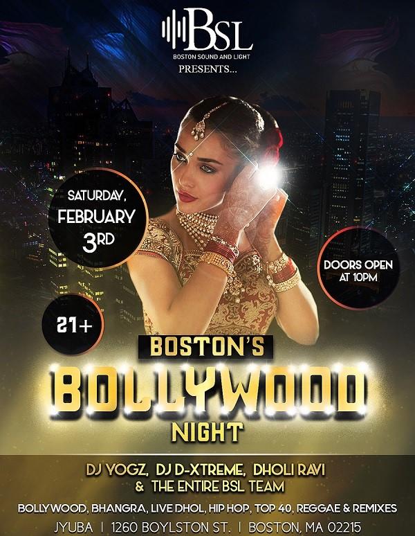 Boston's Bollywood Night 2018 at Jyuba, Boston, MA | Indian Event