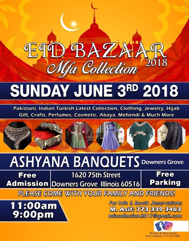 Mfa Collection Eid Bazaar 2018 at Ashyana Banquets, Downers
