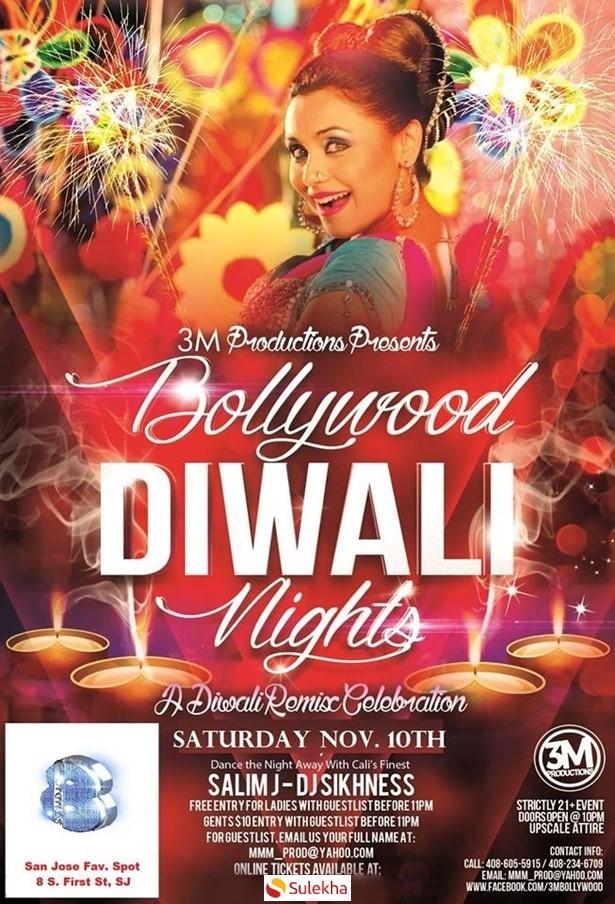 Bollywood Diwali Nights at Studio 8 – Downtown San Jose, San