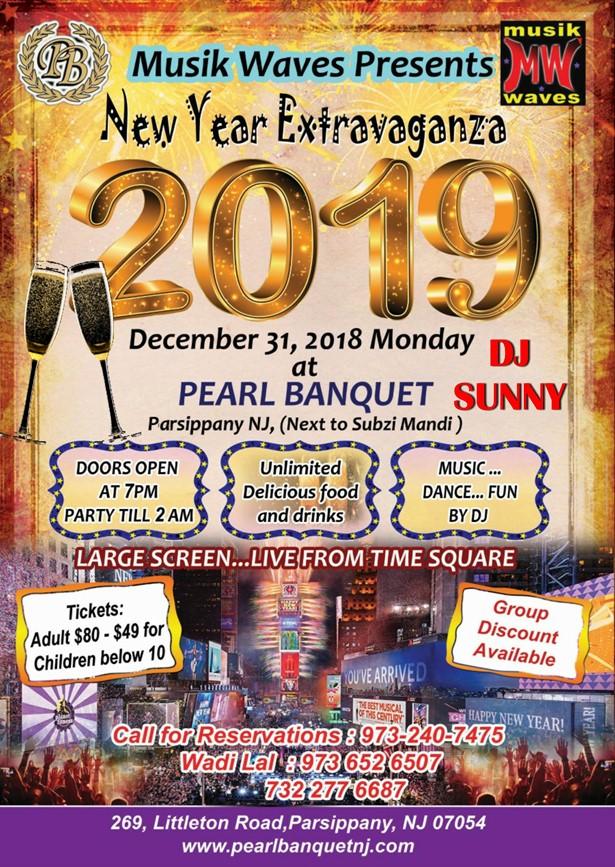 Musik Waves- New Year Extravanganza at PEARL Banquet