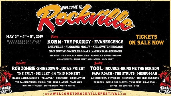 Welcome To Rockville 2019 At Metropolitan Park