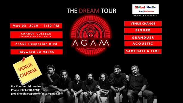 Agam A Dream Tour Indian Progressive Rock - Hayward at