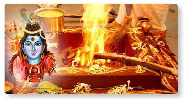 Maha Rudrahoma-Culminating event of Shravan Month! at Sri