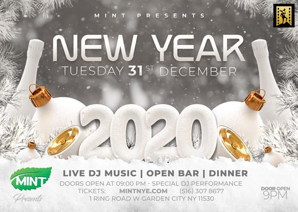 Shred It Events Buffalo Ny 2020.New Years Eve 2020 New York Mint Nye At Mint Garden
