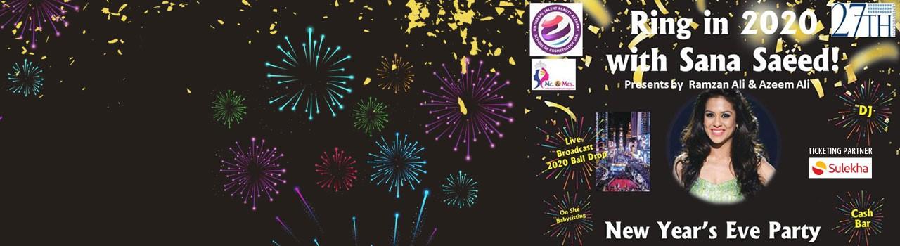 Atlanta New Years Eve 2020.Ring In 2020 New Years Eve Atlanta At Ashiana Banquet Hall