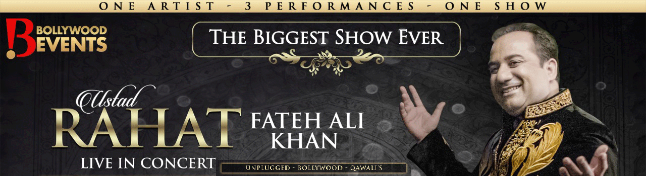 Rahat Fateh Ali Khan Live In Concert – Bay Area at Event Center