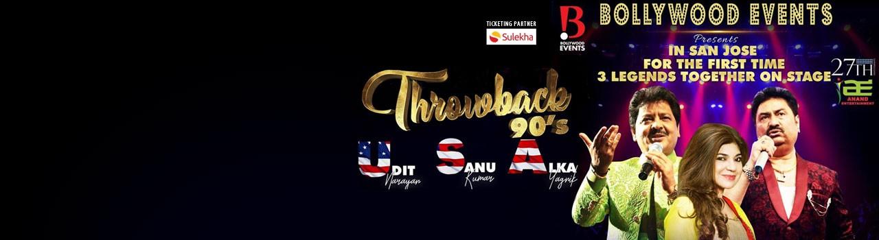 Throwback 90's With Udit Narayan,Alka Yagnik and Kumar Sanu