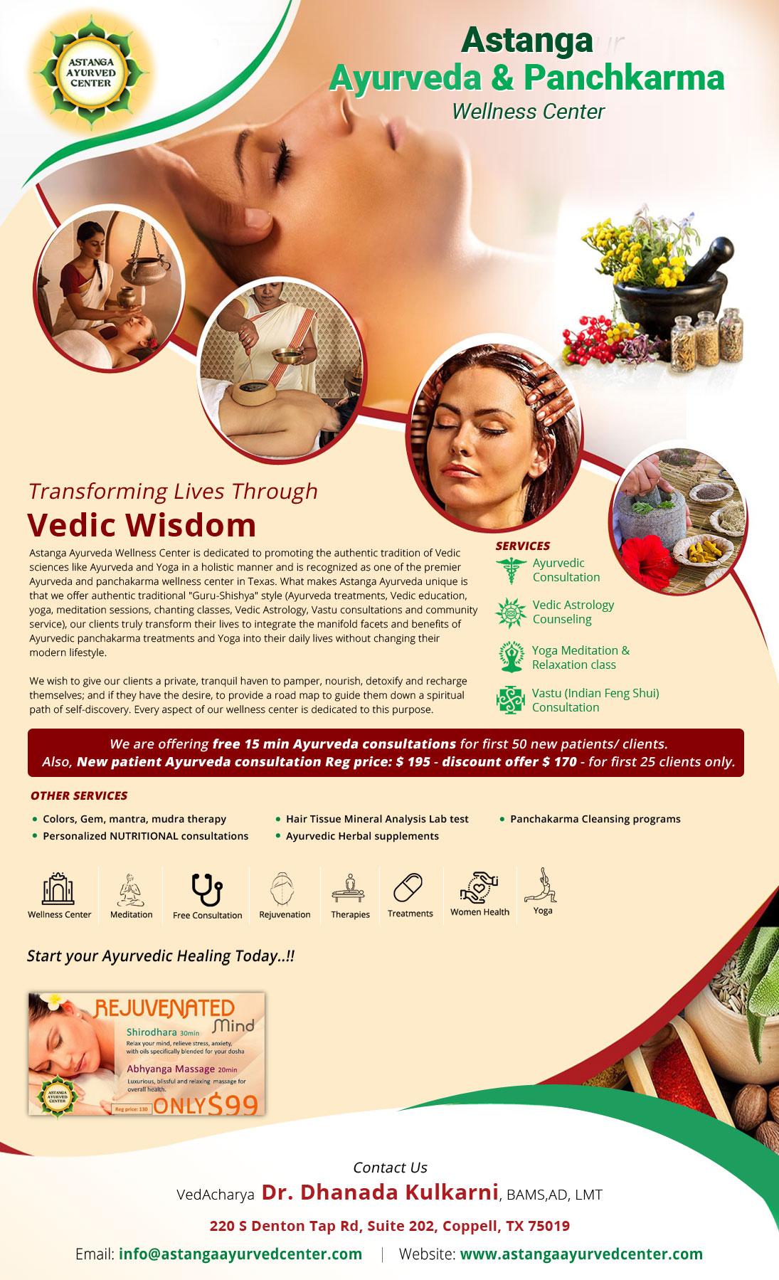 Astanga Ayurveda And Panchkarma Wellness Center - Therapist