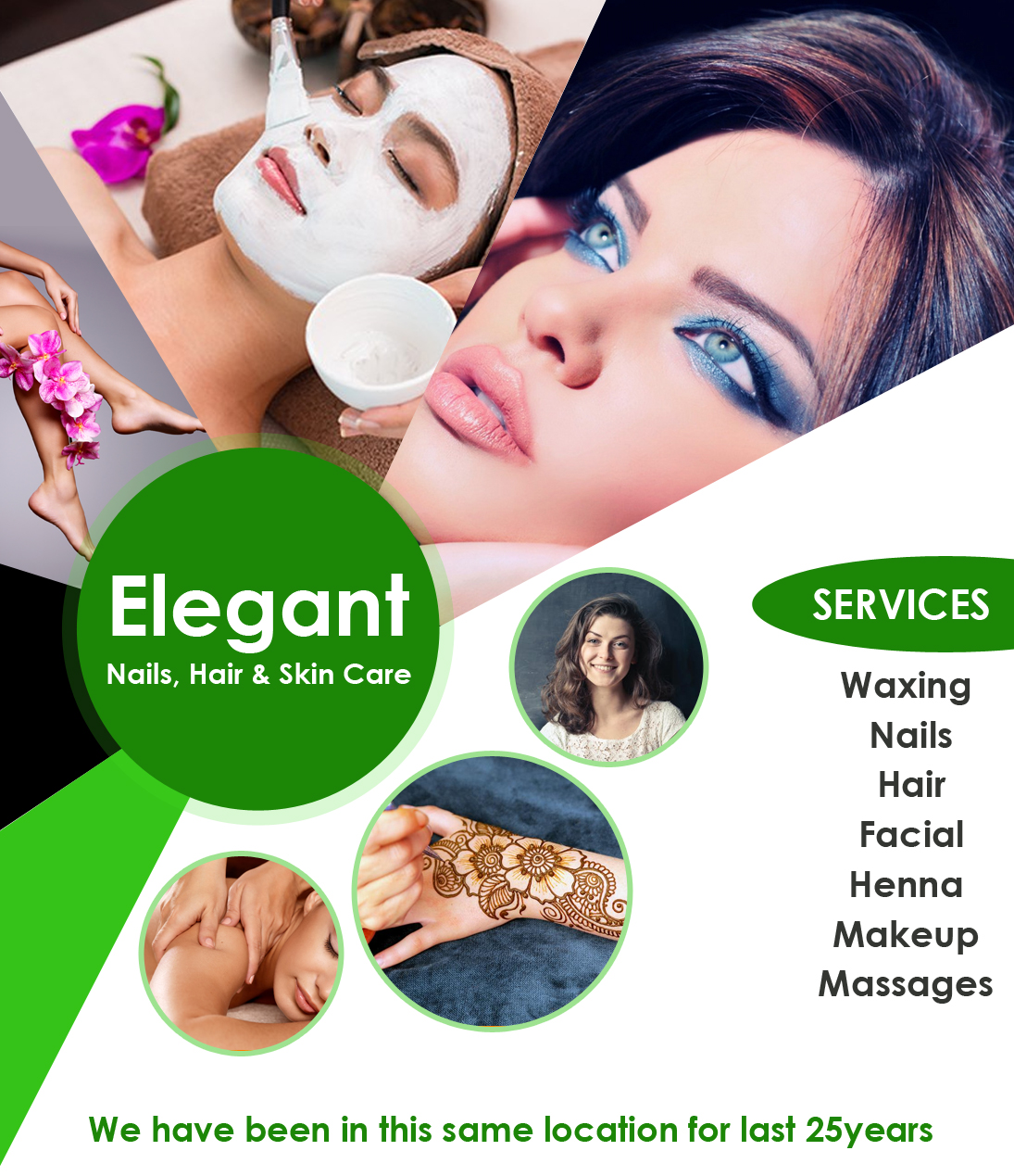 About Elegant Nails, Hair & Skin Care