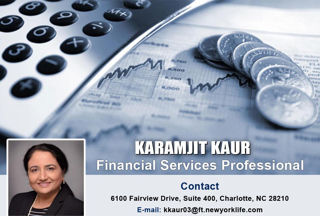 Karamjit Kaur Financial Services Professional Insurance Agent