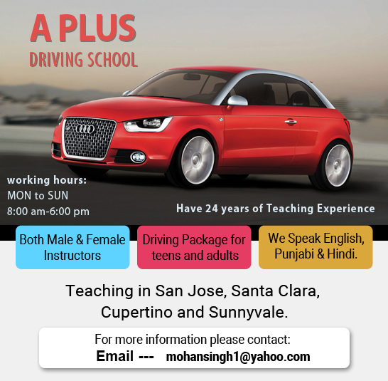A Plus Driving School Driving School In Santa Clara Ca Sulekha
