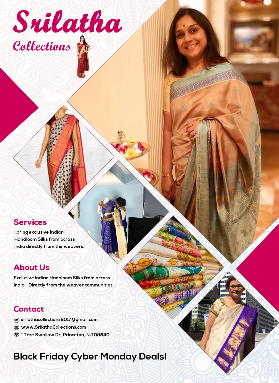 Srilatha Collections - Clothing Store - Princeton, NJ | Sulekha