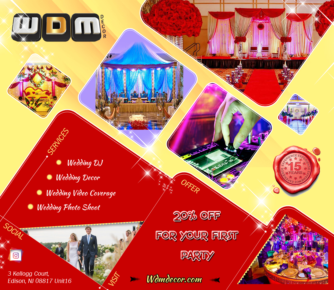 WDM Decor - Event Planner - Edison, NJ - Sulekha