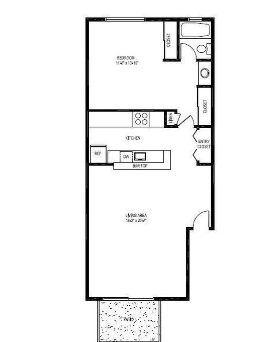Spacious Full 1B1B Available For 1 Month Rent | 1 BHK Apartments and Flats  in Belmont, CA | 1193895 - Sulekha Rentals