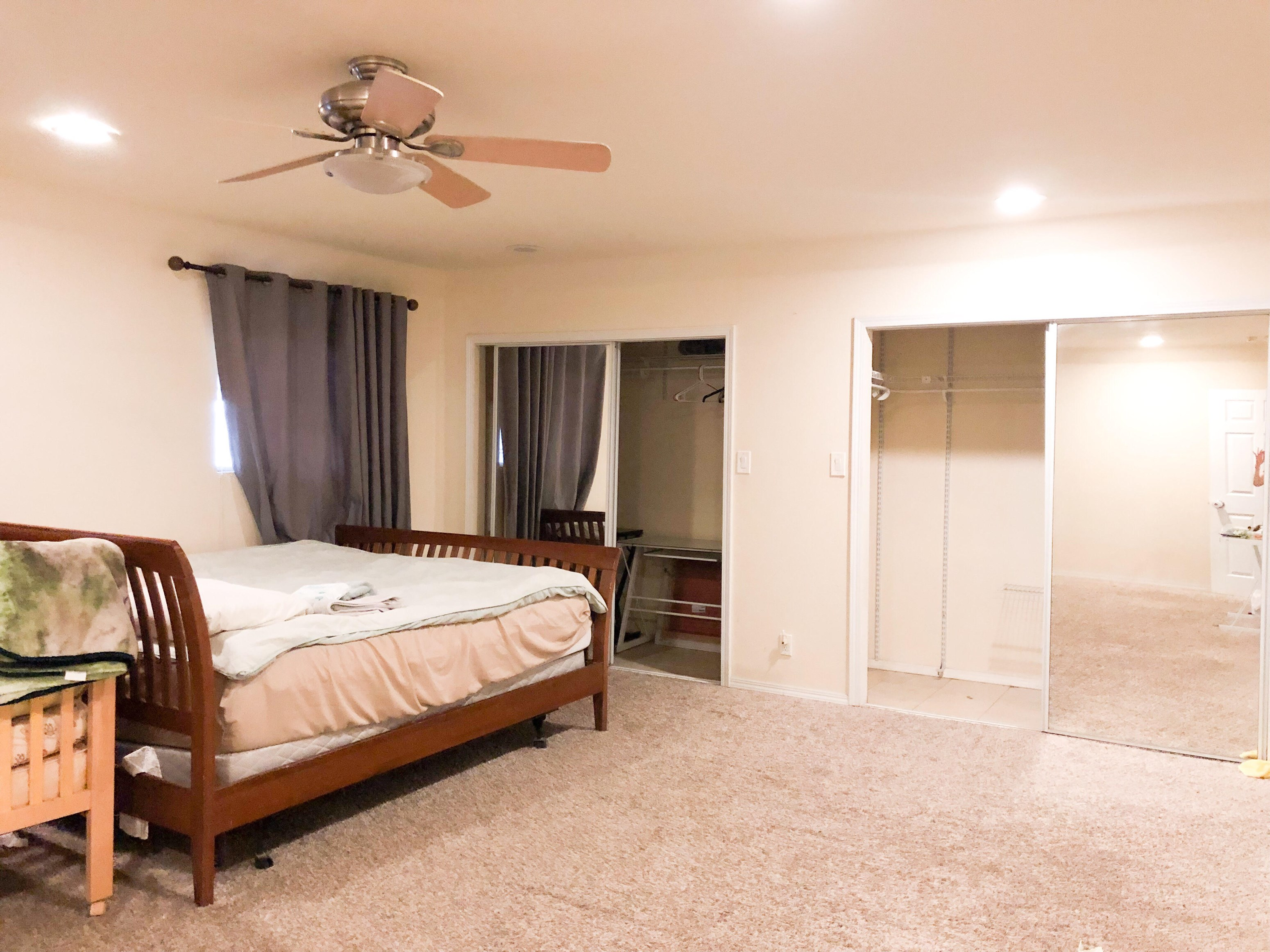 Master Bedroom, Private Bathroom W/ Jacuzzi Tub & Shower, 2 ...