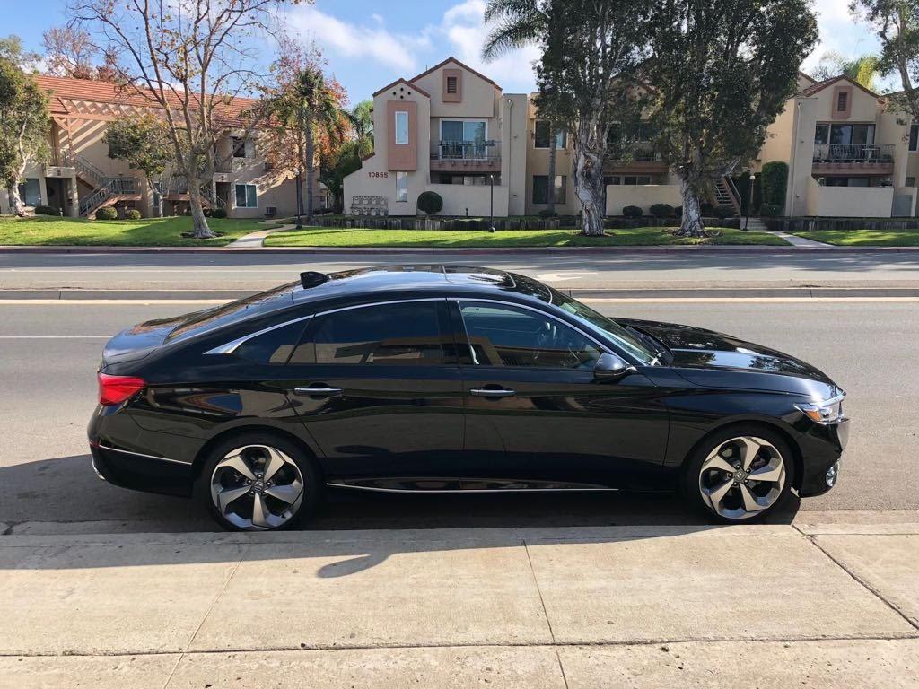 Honda Accord Touring 2018 Black Used Honda Accord Cars In San Diego Ad 1032719